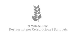 El Molí del Duc, saló per celebracions i Banquets